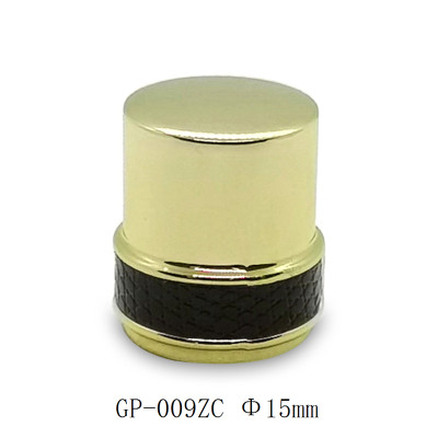 Glass bottles zamac perfume cap wholesale China manufacturers GP Bottles