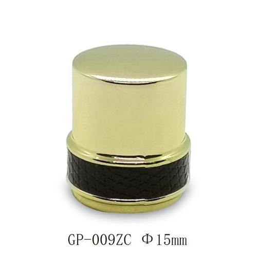 Glass bottles zamac perfume cap wholesale China manufacturers GP Bottles