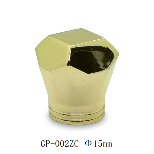 China wholesale custom different types zinc alloy caps for perfume bottles