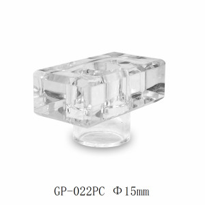 Transparent surlyn perfume cap rectangle for glass bottles customization | GP Bottles