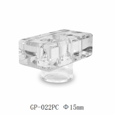 Transparent surlyn perfume cap rectangle for glass bottles customization | GP Bottles