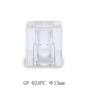 Square transparent surlyn perfume cap manufacturer - GP Bottles