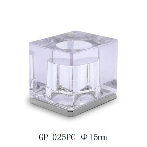 Beautiful transparent plastic perfume cap for perfume bottle China supplier GP Bottles