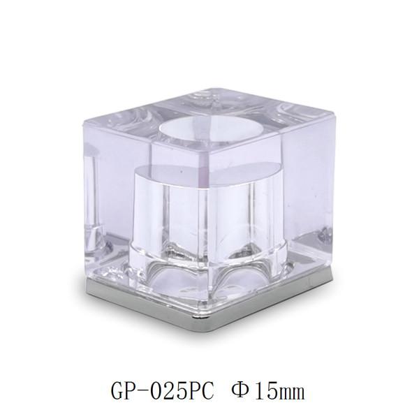 Beautiful transparent plastic perfume cap for perfume bottle China supplier GP Bottles