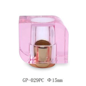 Pink cap perfume glass bottle use customization GP Bottles
