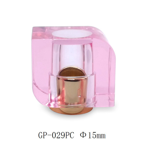 Pink cap perfume glass bottle use customization GP Bottles