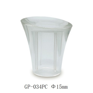 Clear surlyn cap for women's perfume bottle - GP Bottles