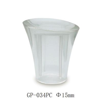 Clear surlyn cap for women's perfume bottle - GP Bottles