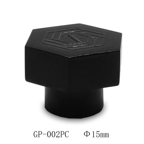 Custom black surlyn plastic perfume bottle cap manufacturers | GP Bottles
