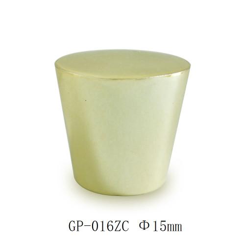 China wholesale copper color zamac cone cap perfume for sale