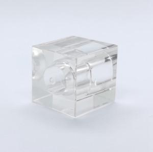 مصنع غطاء العطور Surlyn الشفاف المربع - زجاجات GP
