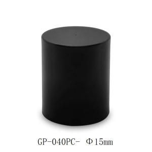 Simple cylinder PP cap for glass perfume bottles manufacturer | GP Bottles