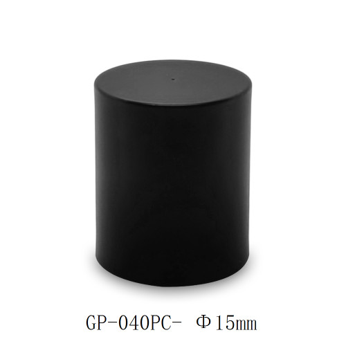 Simple cylinder PP cap for glass perfume bottles manufacturer | GP Bottles