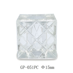 Square stripe transparent surlyn perfume cap manufacturer - GP Bottles
