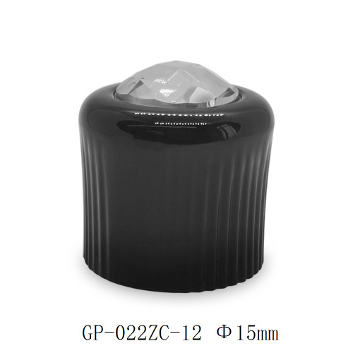 Dimond on top zamac perfume cap for glass bottle | GP Bottles