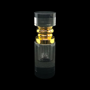 3ml Cylinder crystal perfume bottle manufacturers  | GP Bottles