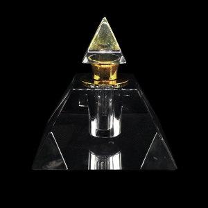 De perfume de cristal piramidal de 5 ml con gotero a la venta | Botellas GP