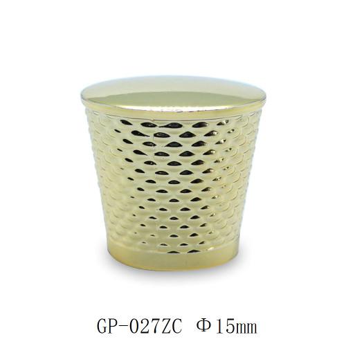 سبائك الزنك الذهب تصفيح العطور بالجملة قبعات العطور | زجاجات GP