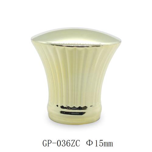 Golden metal perfume caps zamac cap design for 15mm glass bottle wholesale | GP Bottles