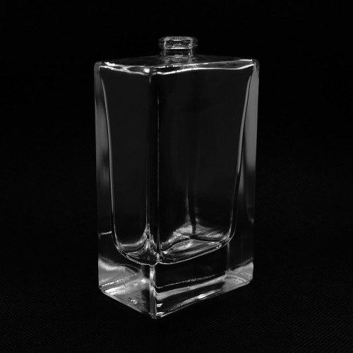 زجاجات عطر زجاجية جميلة ، زجاجة كولون فارغة ، شكل كلاسيكي مربع 100 مل للعطور الرجالية | زجاجات GP