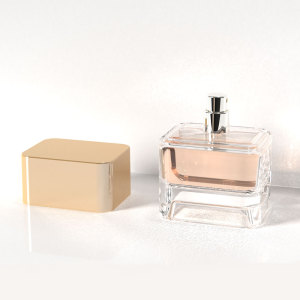 New launched design, 75ml glass perfume bottle with plastic cap, men's scent bottle | GP Bottles