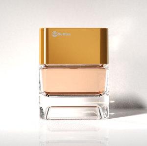 New launched design, 75ml glass perfume bottle with plastic cap, men's scent bottle | GP Bottles