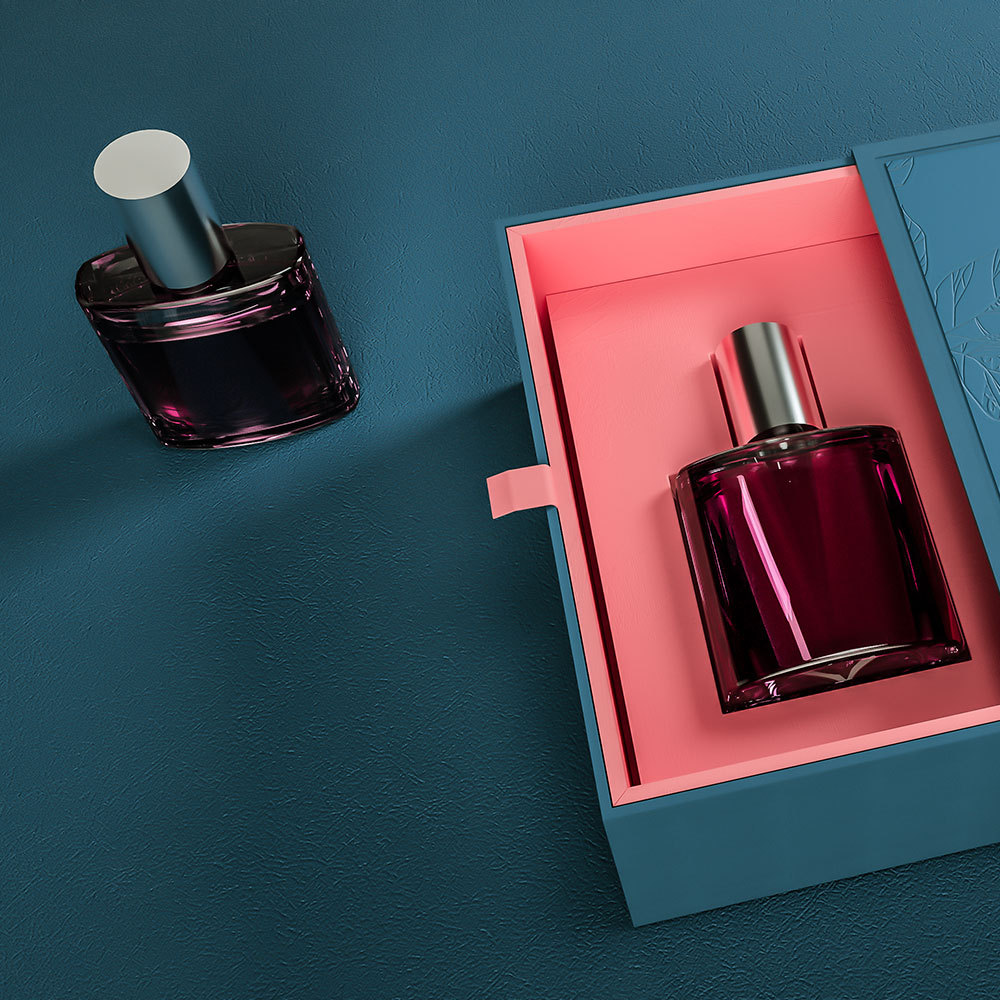 How to present costly feeling of perfume by the design of perfume packaging?
