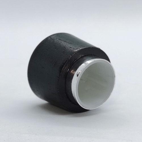 Natrual wood cap for perfume bottle, 15mm crimp type neck, aluminium and PP inner cap  | GP Bottles