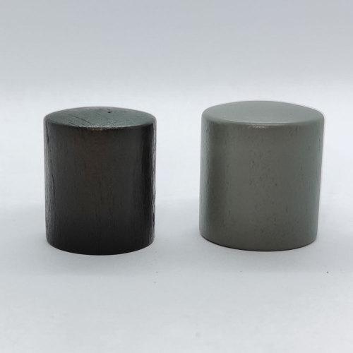 Cylinder-shaped wooden perfume cap for glass bottle wholesale,15mm crimp bottleneck| GP Bottles