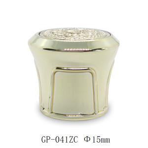 Tapas de botellas de oro para envases de perfumes de lujo al por mayor, pulverizador de bomba FEA 15 adecuado | Botellas GP