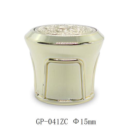 أغطية زجاجات ذهبية لتغليف العطور الفاخرة بالجملة ، بخاخ مضخة FEA 15 مناسب | زجاجات GP