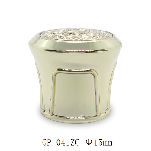 Golden bottle caps for luxury perfume packaging wholesale, FEA 15 pump sprayer suitable | GP Bottles