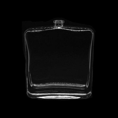 قوارير عطور فارغة بالجملة ، زجاجات عطور فارغة جديدة للرجال ، زجاجة كبيرة مسطحة ومربعة | زجاجات GP