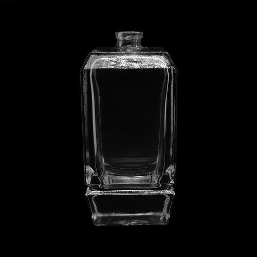 100 مل زجاجات عطر زجاجية مربعة | زجاجة عطر بمضخة رش | زجاجة عطر قديمة | زجاجات العطور البخاخة بالجملة