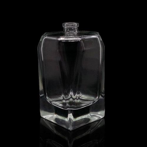 100 مل زجاجات عطر زجاجية فارغة بالجملة   الصين مُصنِّع زجاجات العطور الزجاجية   زجاجة رذاذ عطر عالية الزجاج الأبيض