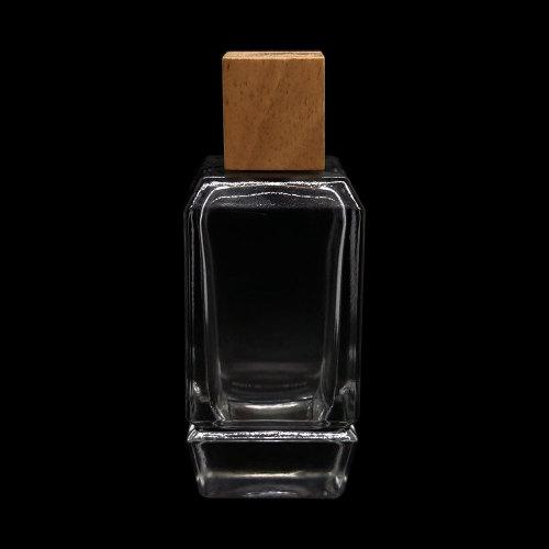 100 مل زجاجات عطر زجاجية مربعة   زجاجة عطر بمضخة رش   زجاجة عطر قديمة   زجاجات العطور البخاخة بالجملة