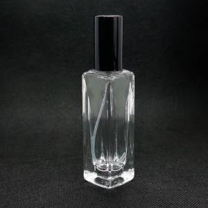 20 مل مخزون زجاجات العطور بالجملة   200 قطعة موك   رقبة لولبية 13 مم مع مضخة ألومنيوم ، غطاء ألومنيوم   مربع أبيض ، التسمية المتاحة