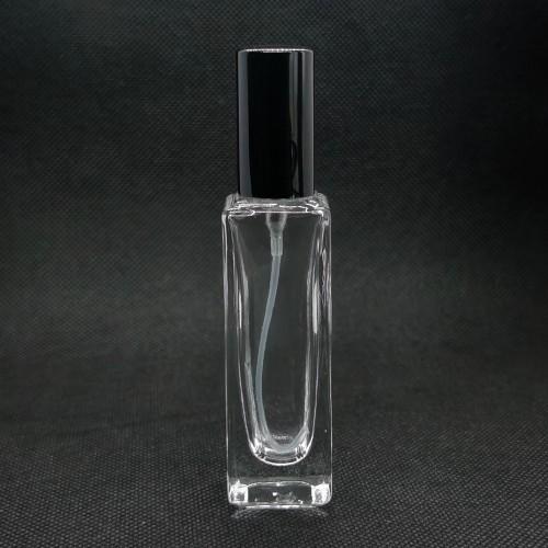 20 مل مخزون زجاجات العطور بالجملة | 200 قطعة موك | رقبة لولبية 13 مم مع مضخة ألومنيوم ، غطاء ألومنيوم | مربع أبيض ، التسمية المتاحة