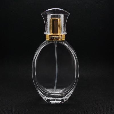 50 مل زجاجة عطر بالجملة | زجاجات العطور القابلة لإعادة التعبئة | زجاجة عطر فارغة | مضخة وغطاء بلاستيكي | تصنيع زجاجات GP