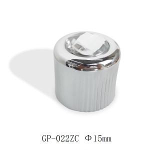Dimond on top zamac perfume cap wholesale | zamak perfume cap | zinc alloy cap for women's perfume | more colors available | GP Bottles Manufacturing