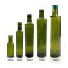 Glass Olive Oil Bottles | Custom Marasca Green Glass Cooking Oil Bottle for Kitchen