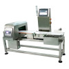 checkweigher with metal detection machine