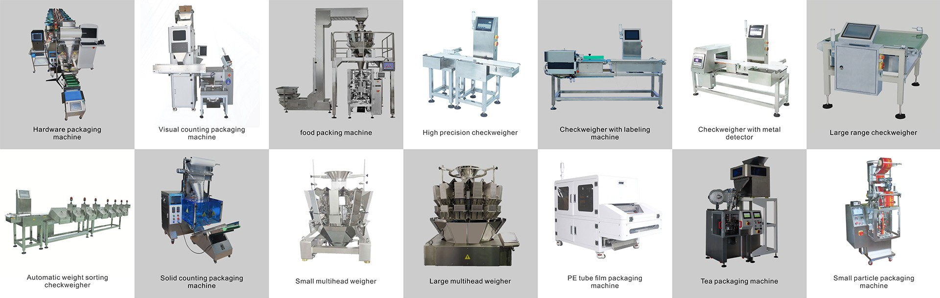 How many types of machine are available ?