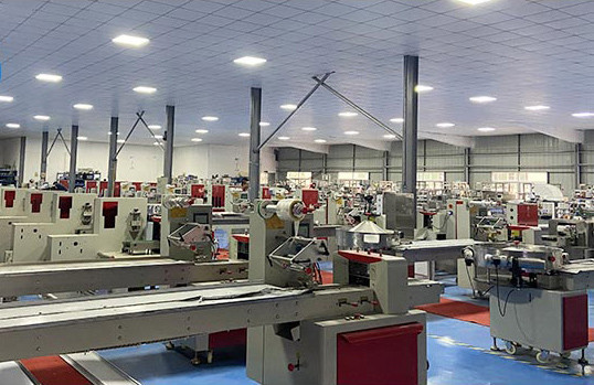 What is the general procedure for packaging machine design?