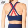 Custom Womens Plus Size Criss Cross High Impact Sports Bra Wholesale-Aktik