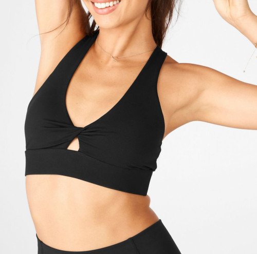 Customize Your Own Push Up Sexy Cross Back Sports Bra with Good Support-Aktik