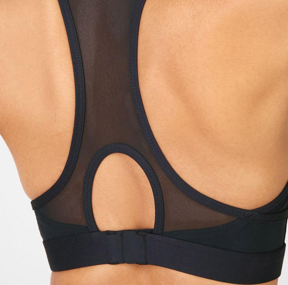 mesh sports bra