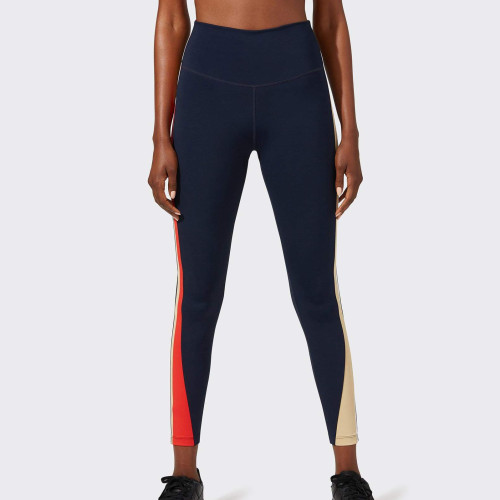 Custom Good Quality Best Compression Womens Gym Leggings with Color Block-Aktik