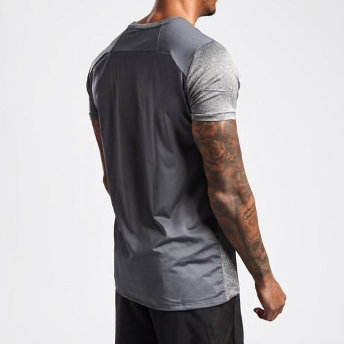 Private Label Mens Short Sleeve Crew Neck Custom Dri Fit T Shirts-Aktik