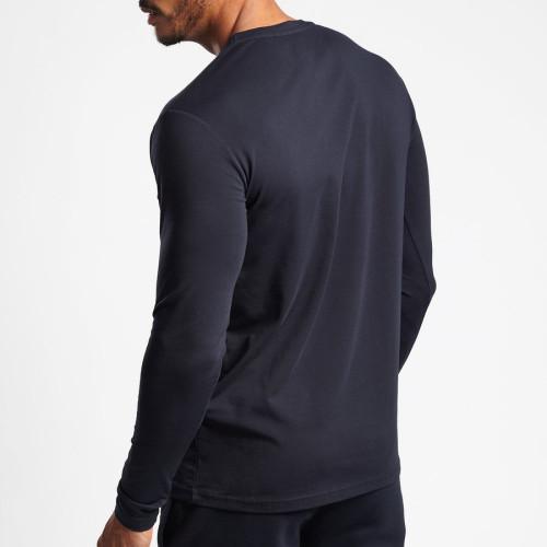 Private Label High Quality Cotton Long Sleeve Custom T Shirts Wholesale-Aktik